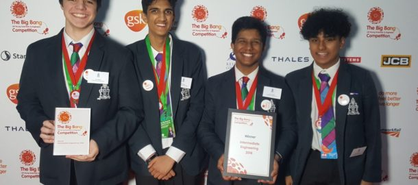 Crawley Students Win Major Science Awards