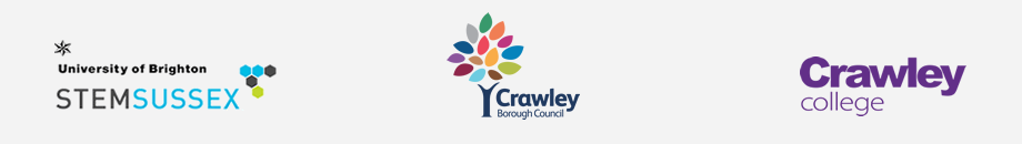 STEM Sussex | Crawley Borough Council | Crawley College.